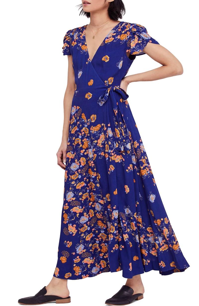Free People Gorgeous Jess Wrap Maxi Dress $88.80 (previously $148.00)