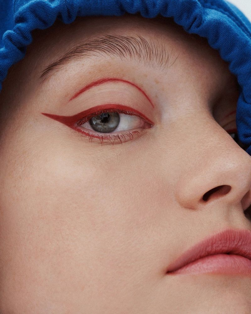 Gemma Ward Models New Beauty Trends for Allure