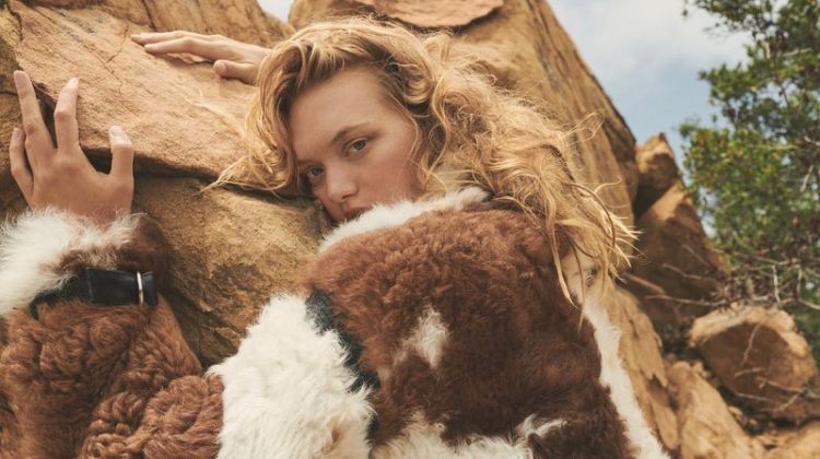 Gemma Ward Wears Neutral Styles for POP Magazine