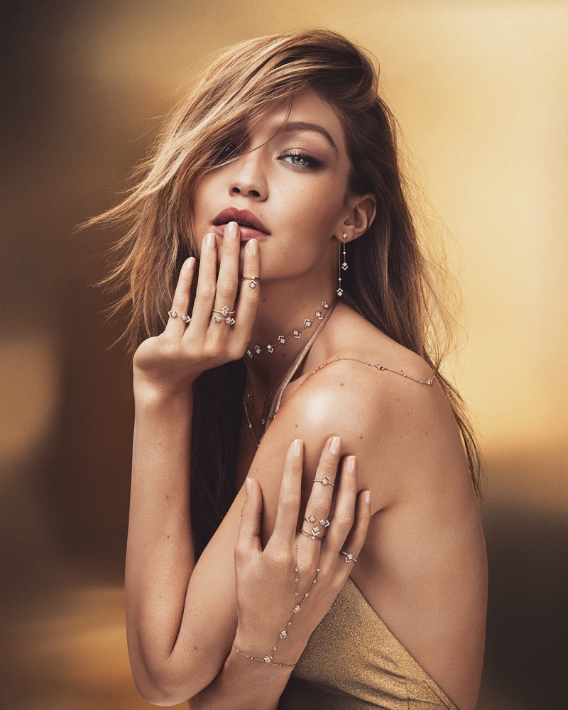 Gigi Hadid stars in Messika My Soul Jewelry campaign