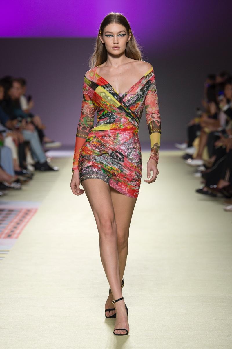 Gigi Hadid. Photo: Versace