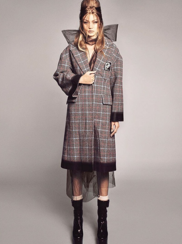Gigi Hadid Models Rockabilly Style for Vogue Brazil