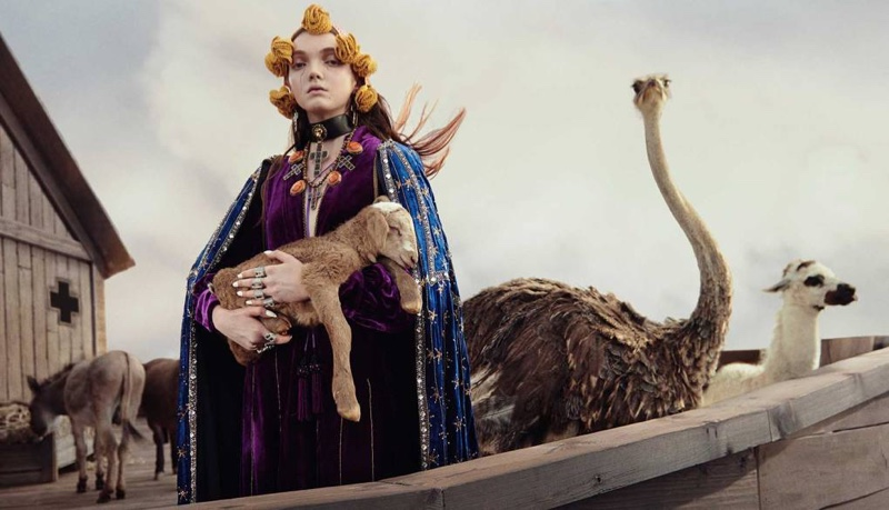An image from the Gucci cruise 2019 campaign