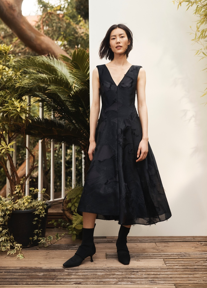 H&M Conscious Exclusive spotlights little black dress for fall-winter 2018 campaign