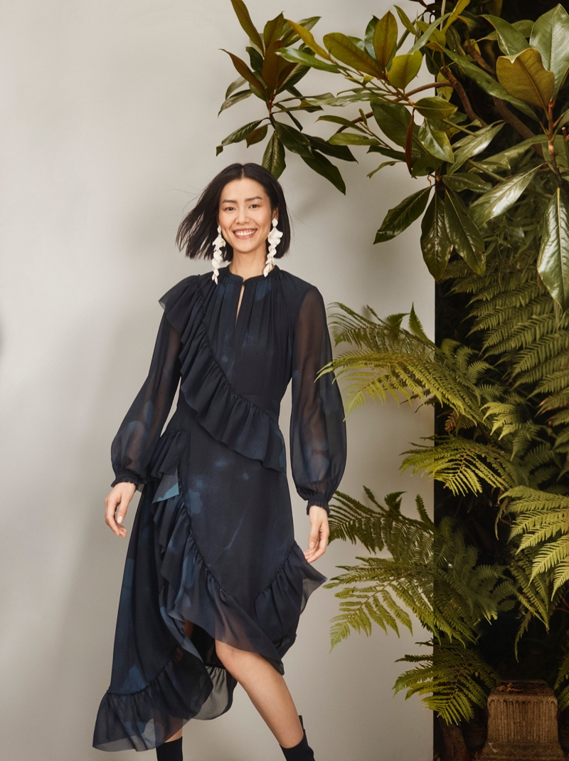 H&M Conscious Exclusive spotlights evening styles for fall-winter 2018 campaign