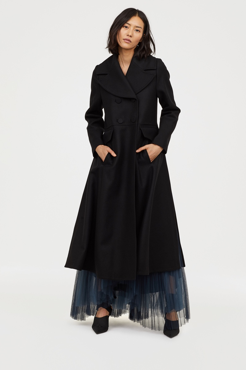 H&M Conscious Exclusive Wool-Blend Coat $299
