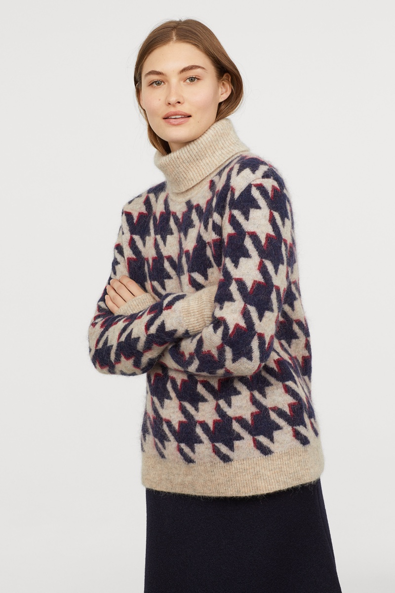 H&M Studio Knit Turtleneck Sweater $99