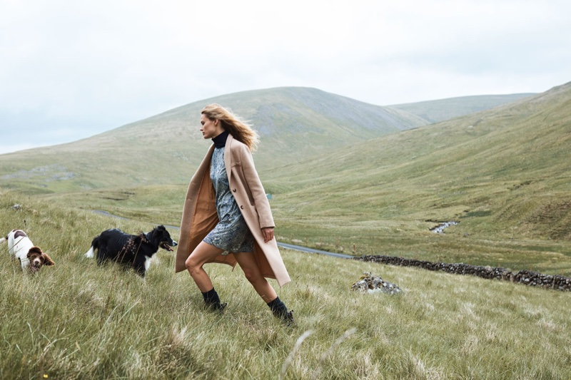 An image from the H&M x Morris & Co. campaign