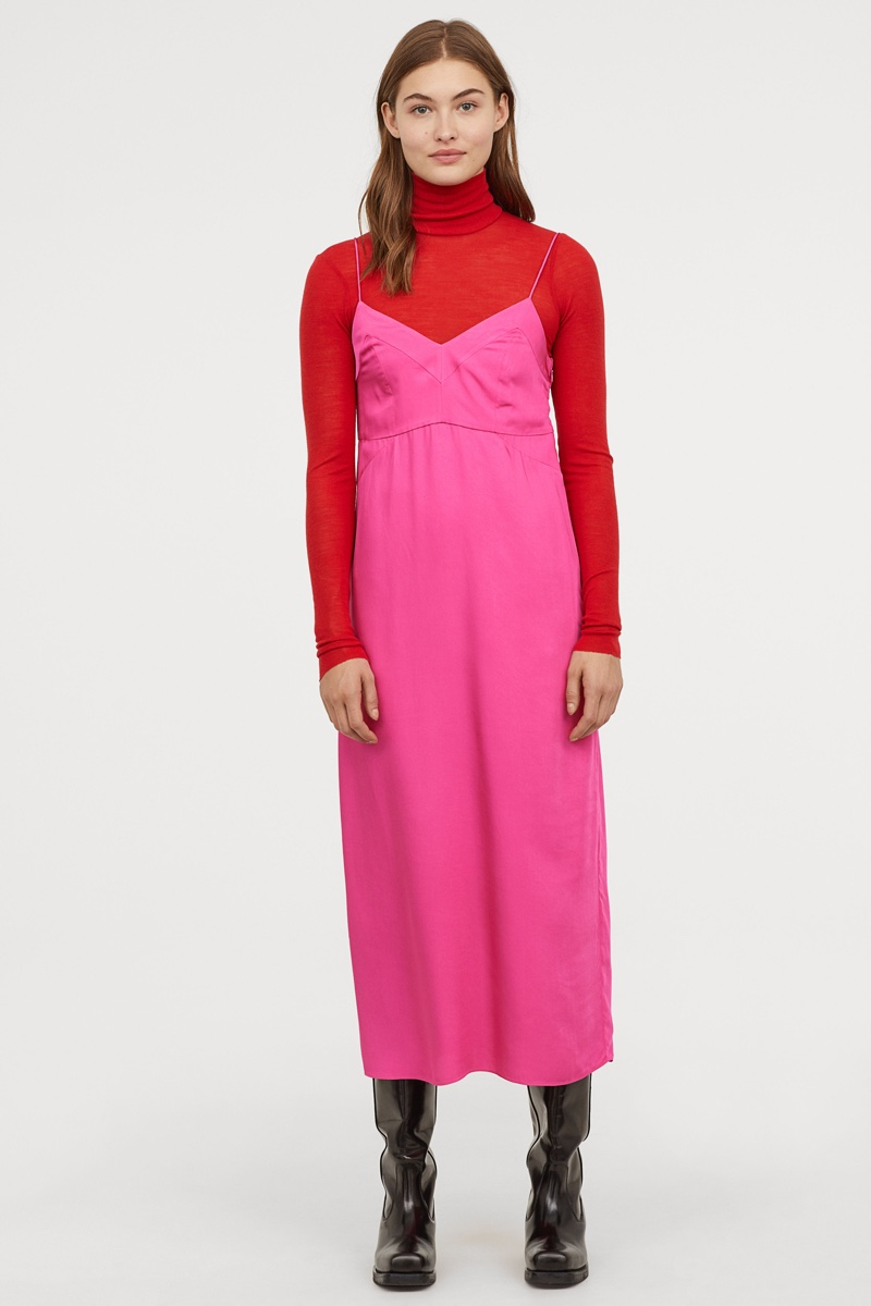 H&M Studio Slip Dress $79.99