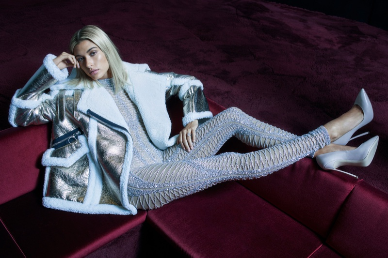 Nicole Benisti unveils fall-winter 2018 campaign with Hailey Baldwin