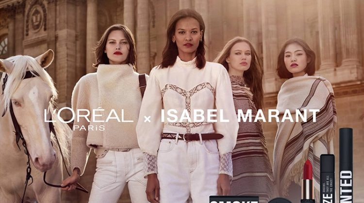 L'Oreal Paris x Isabel Marant makeup campaign launches