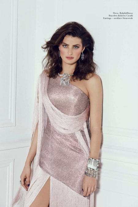 Isabeli Fontana Embraces Luxe Looks for Harper's Bazaar Arabia