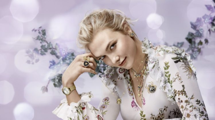 Karlie Kloss stars in Swarovski winter 2018 campaign