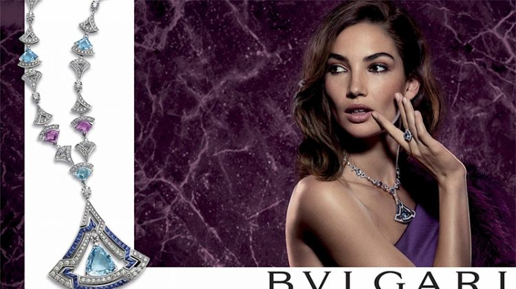 Lily Aldridge stars in Bulgari Divas' Dream campaign