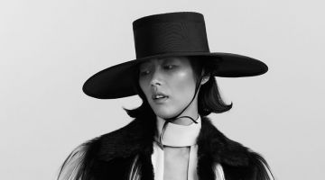 Liu Wen Wears Autumn Looks for T Magazine China