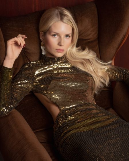 Lottie Moss Poses in Chic Fashions for ELLE Bulgaria