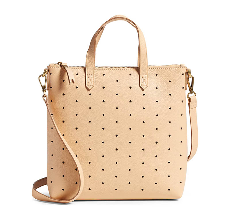 Madewell Mini Transport Perforated Leather Crossbody Bag $83.98 (previously $168)