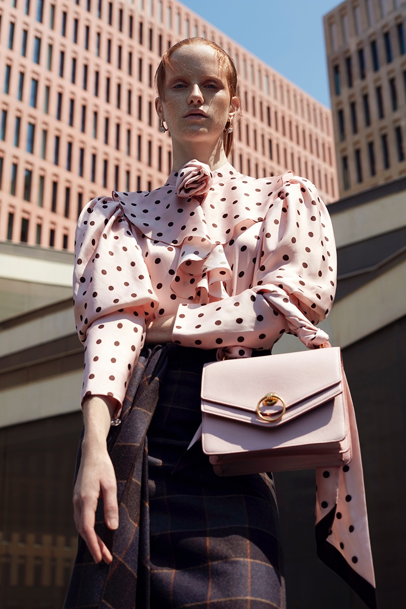 Magdalena Jasek Wears Office-Ready Styles for Harper's Bazaar Mexico