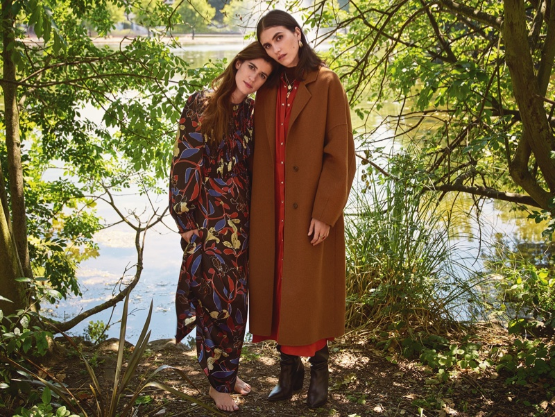 An image from the Mango fall 2018 advertising campaign