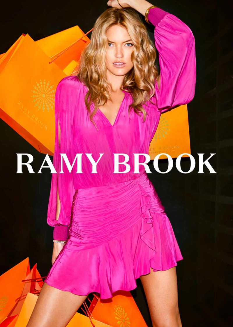Ramy Brook enlists Martha Hunt for fall-winter 2018 campaign
