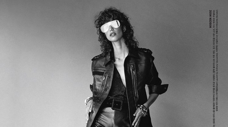 Mica Arganaraz Wears Cool Girl Style for Vogue Korea