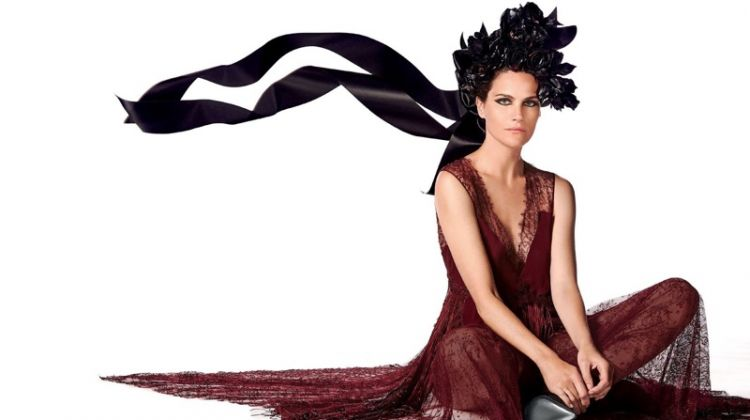 Missy Rayder Wears Statement Fashions for Vogue Arabia