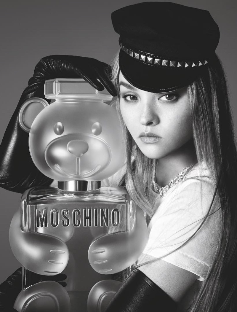 Moschino taps Devon Aoki for Toy 2 fragrance campaign