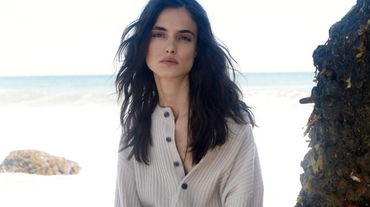 Blanca Padilla stars in Naked Cashmere fall 2018 campaign