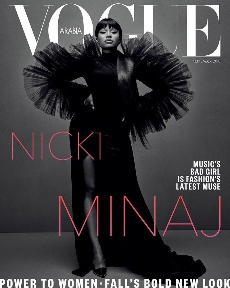 Nicki Minaj on Vogue Arabia September 2018 Cover