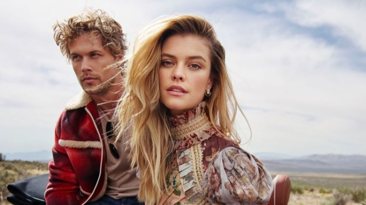 Nina Agdal Goes On a Fashionable Road Trip for Cosmopolitan