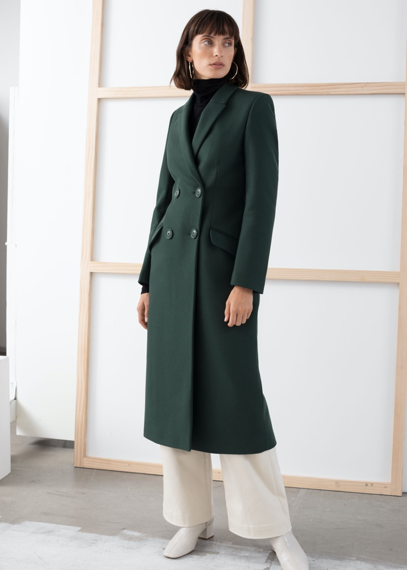 & Other Stories Double Breasted Tailored Coat $279
