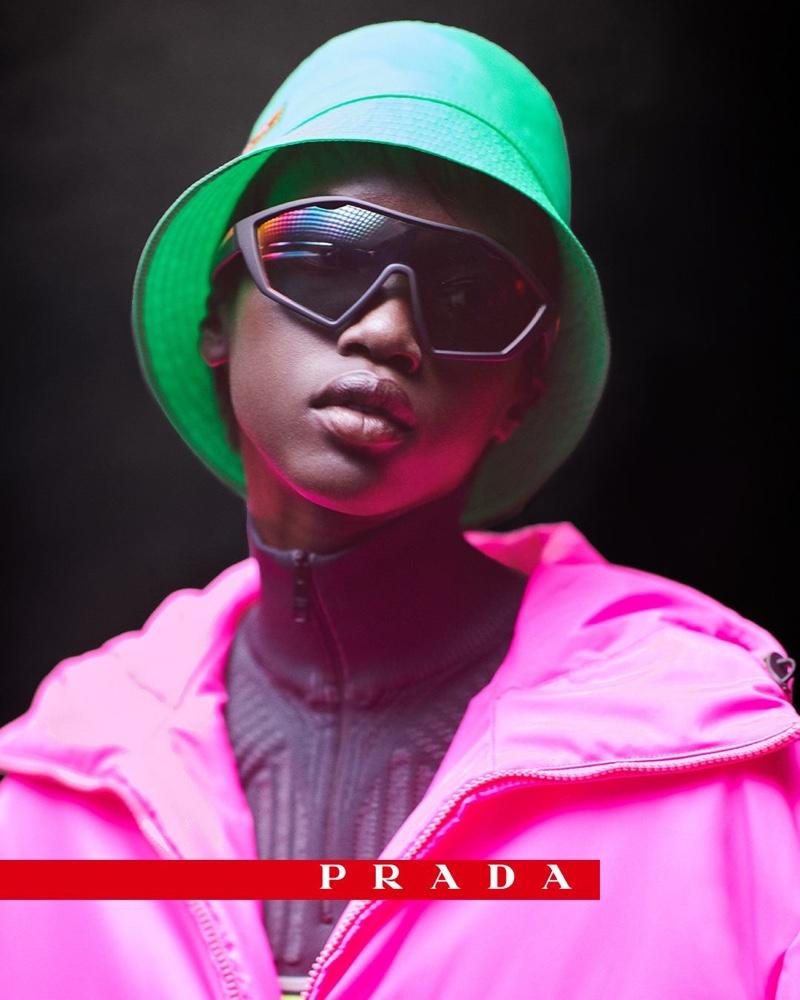 Anok Yai stars in Prada Linea Rossa campaign cf7563bdff8