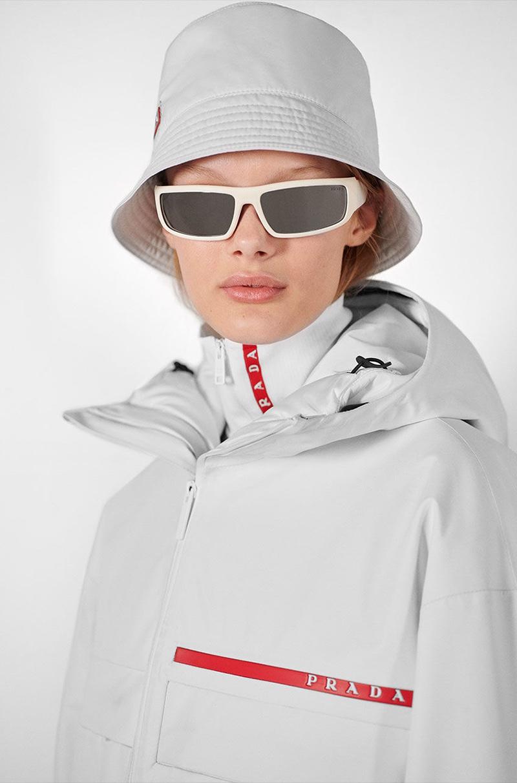 Prada focuses on retro style for Linea Rossa campaign