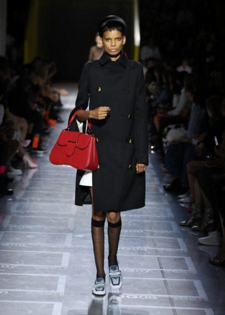 Prada Brings Retro Shapes to Spring 2019