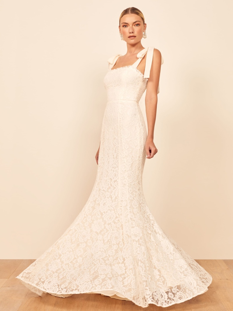 Reformation Bastille Wedding Dress $528