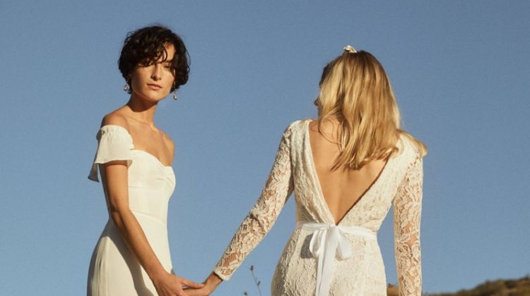 Reformation fall 2018 wedding dresses