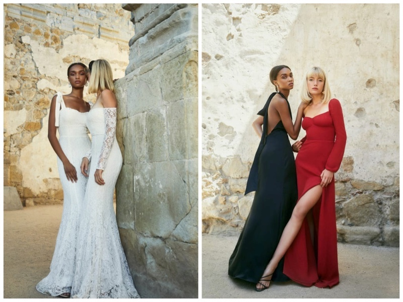 Reformation wedding bridesmaid dresses fall 2019
