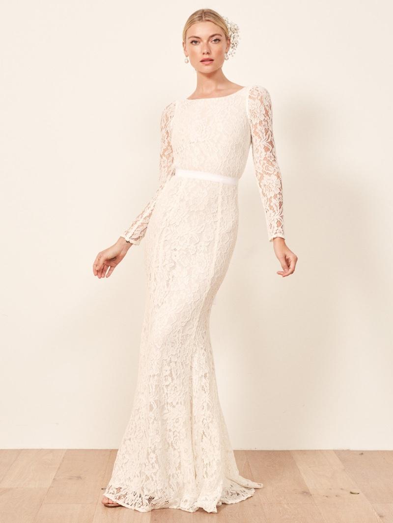 Reformation Hestia Wedding Dress $528
