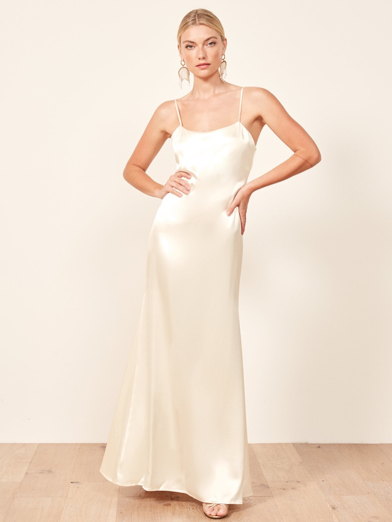 Reformation Minerva Wedding Dress $498