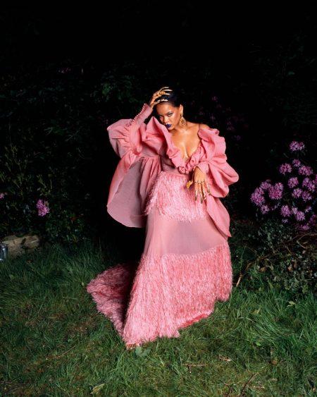 Rihanna Wears Glamorous Looks for Garage Magazine