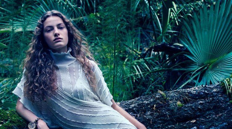 Felice Noordhoff stars in Roberto Cavalli fall-winter 2018 campaign