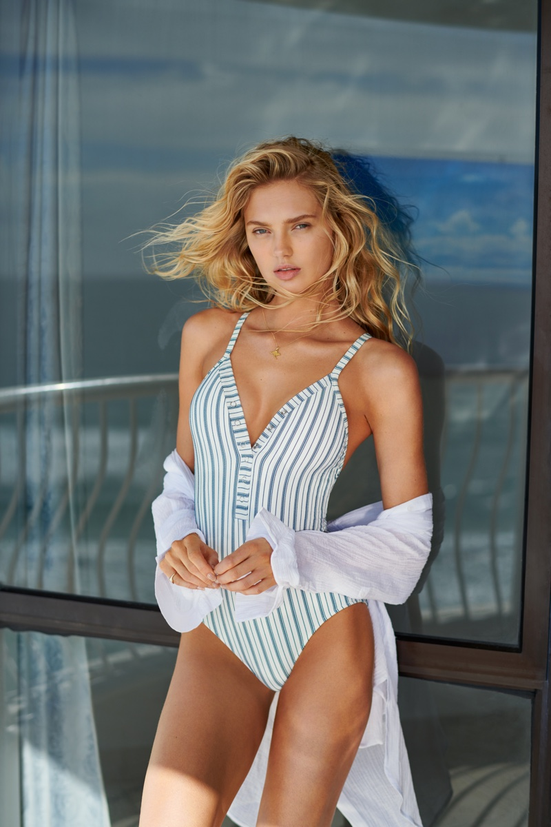 Romee Strijd stars in Seafolly fall 2018 campaign