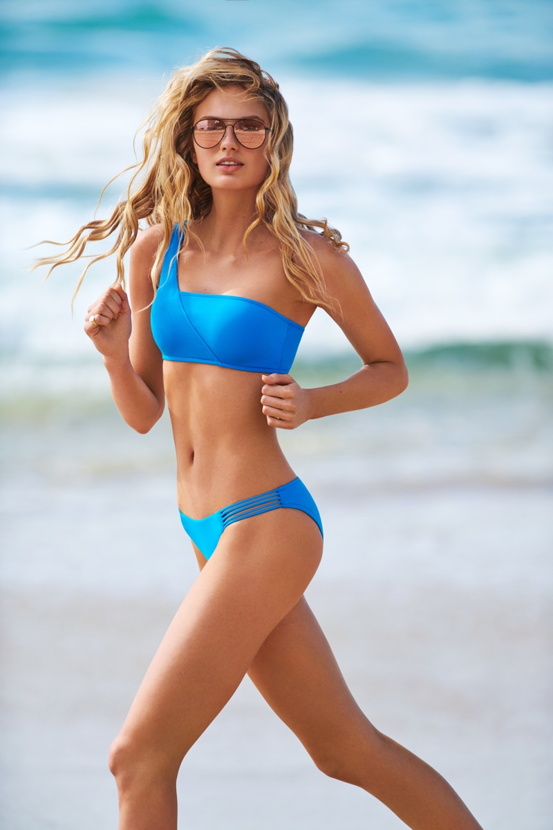 Seafolly taps Romee Strijd for fall 2018 swimwear campaign