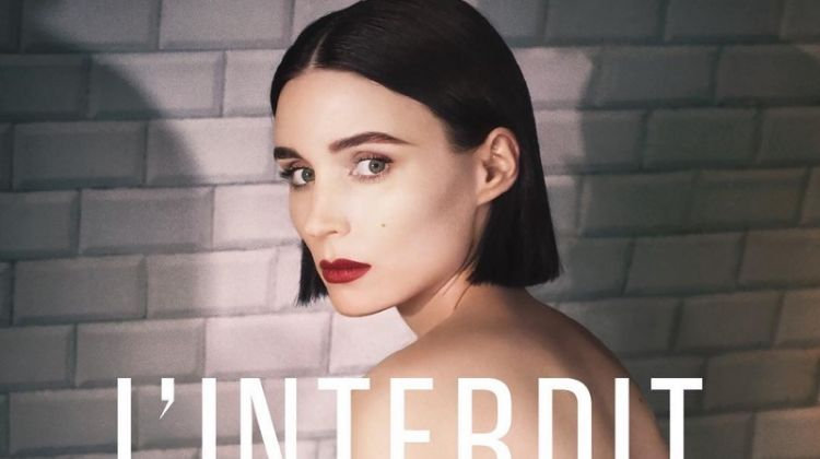 Rooney Mara stars in Givenchy L'Interdit fragrance campaign