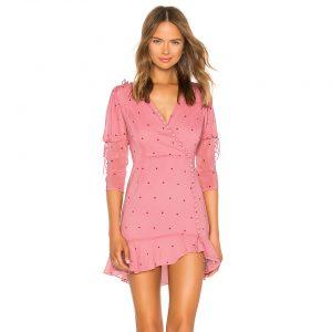 Rosie Button Mini Dress