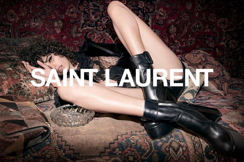 Saint Laurent unveils fall-winter 2018 campaign