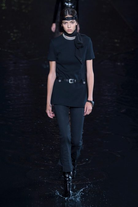 Saint Laurent Delivers Glam Retro Style for Spring 2019