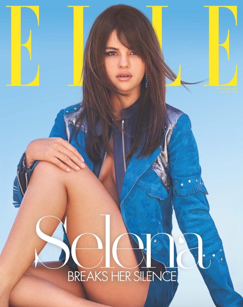 Selena Gomez on ELLE US October 2018 Cover
