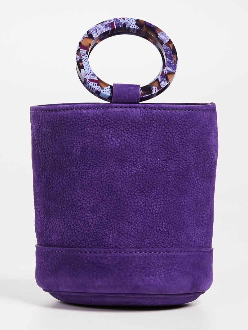 Simon Miller Bonsai Mini Bucket Bag in Royal Purple $390