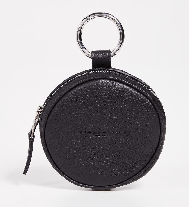 Simon Miller Circle Pop Pouch in Black $280
